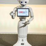 Roboter Pepper bei der Eröffnung des Kongresses