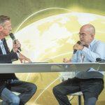 Oliver Zeisberger und Tim Cole