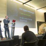 Dominic Neumann und Oliver Zeisberger bei Präsentation