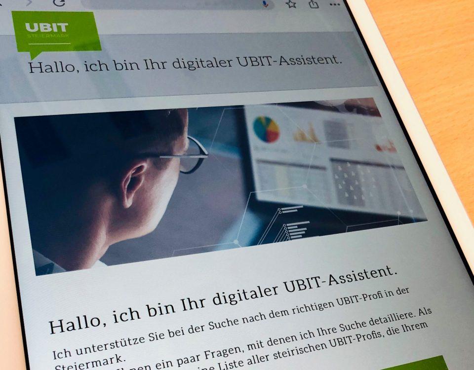 Bild des Digi-index am Ipad