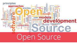 Grafik mit viel verschachteltem Text Open Source models development